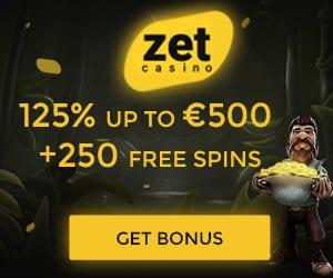 Zet Casino Tournaments are a great way of earning rewards while playing.