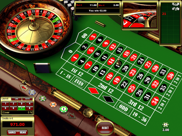 Place your bet and spin the wheel of the American Roulette - a Tom Horn variant