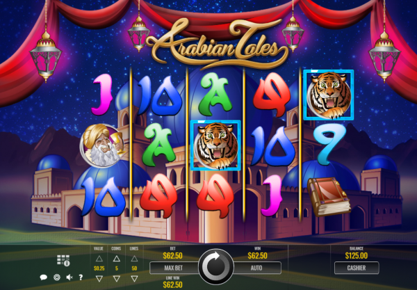 Be a part of the best Arabian tales at any Rival Casinos