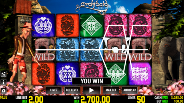 Archibald Orient slot by World Match has immense winning potential