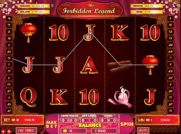 Asia Live Tech developed the Forbidden Legend slot