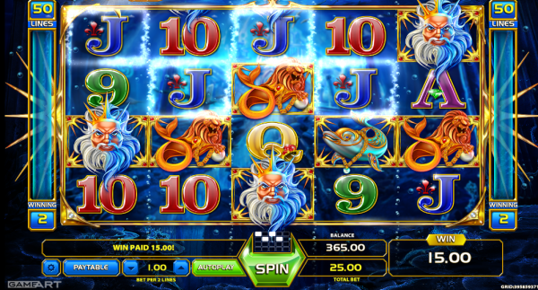 Atlantis World slot is a must-play in any GameArt Casino