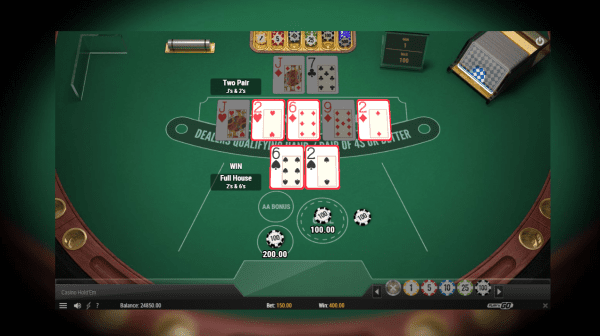 The Famous Play'n Go Casino Holdem