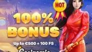 Casinomia 100% Bonus