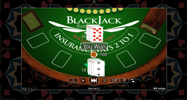 Wazdan Online Casinos are home to an amazing classic Blackjack variant