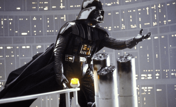 Darth Vader aboard the Death Star