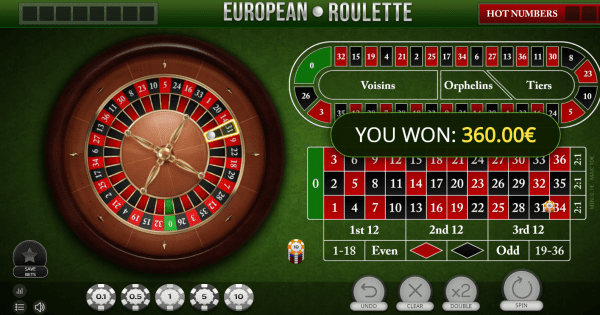 European Roulette is a classic roulette game that deserves your attention
