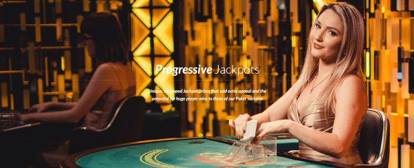 Progessive Jackpots by Evolution Gaming