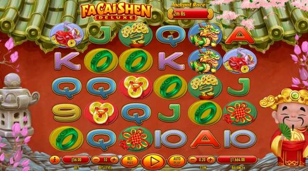 Fa Cai Shen slot is a game with a powerful Asian theme developed by Habanero