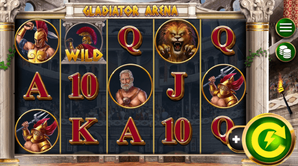 Booming Games Casinos are home to the Gladiator Arena slot