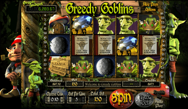 Greedy Goblins is one of the many entertaining jackpots that can be found in Betsoft Casinos