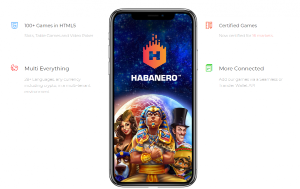 Habanero games are available on every mobile device