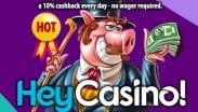 HeyCasino Welcome Offer