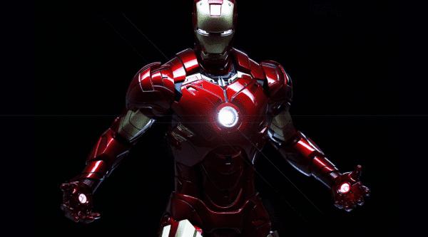 Tony Stark in his Iron Man Suit
