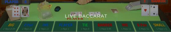 Asia Live Tech has created unique Baccarat variants