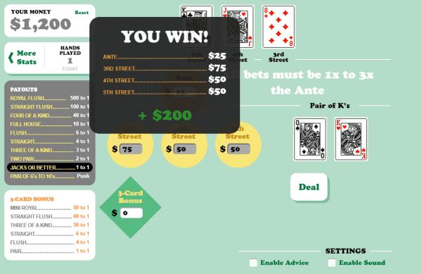 Mississippi Stud is a Poker variant developed by Barcrest