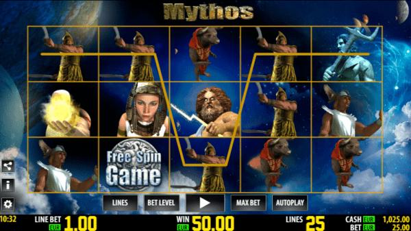 Every World Match Casino hosts Mythos slot