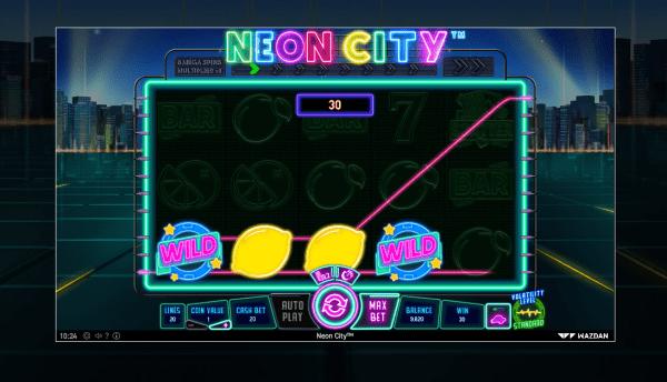 Neon City is a must-try in any Wazdan Casino