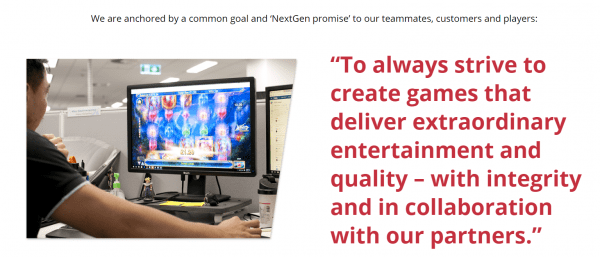 NextGen Gaming is on a mission of developing the games of the future!