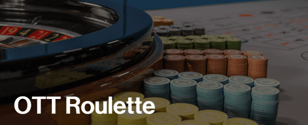 Ott Roulette is a special live roulette variant made by Ezugi