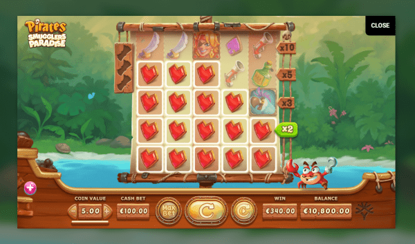 Pirates Smuglers Paradise is a great Yggdrasil slot