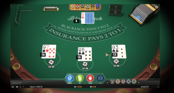 Multihand Blackjack by Play'n Go