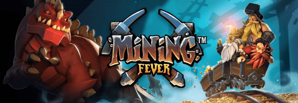 Mining Fever is a new slot available at any Rabcat Online Casino
