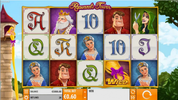 Play Rapunzel Tower slot in any Quickspin Casino