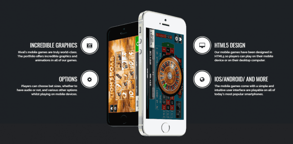 Rival gaming products are fully customizable and designed for mobile access