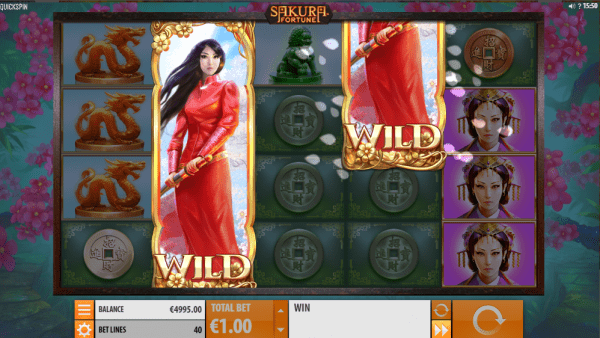 Sakura Fortune is a beautiful Asian-themed slot by Quickspin