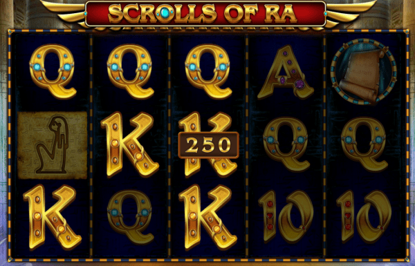 Scrolls of Ra is an Egyptian-themed slot developed by iSoftBet