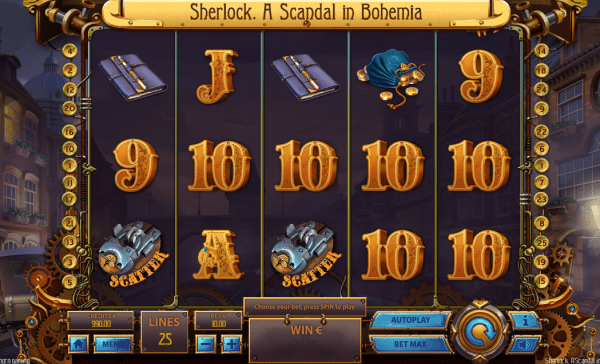 Enjoy a Sherlock adventure at any Tom Horn Casino