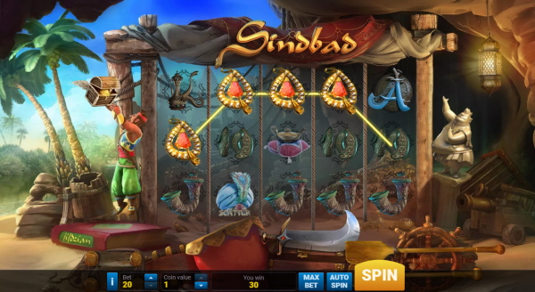 Sindbad slot brings forth an amazing adventure in any Evoplay casino