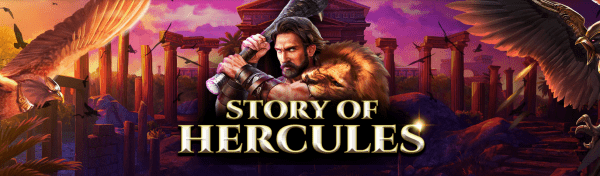 Spinomenal Casinos are home to a golden classic - Story of Hercules slot