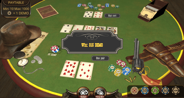 Texas Hold'em is an immersive poker variant created by Evoplay