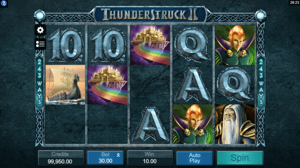 Thunderstruck 2 is an amazing Microgaming slot