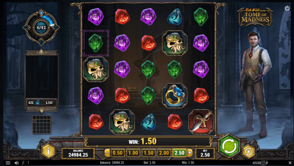 Tome of Madness is an amazing Play'n Go slot