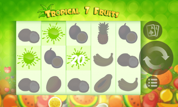 Tropical 7 Fruits slot has plenty of surprises in store for you