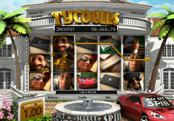 Tycoons slot is a great game in any Betsoft Casino