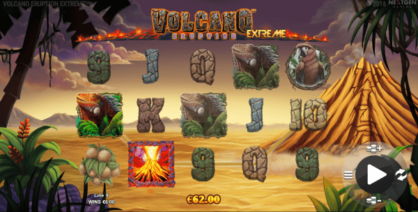 Nextgen Gaming Casinos offer the unique Volcano Eruption Slot
