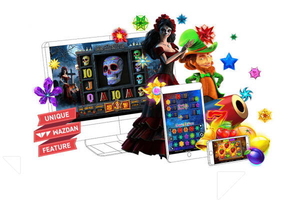 Wazdan games are fully compatible with most devices