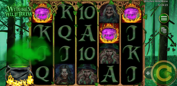 Booming Games presents the Witches Wild Brew slot