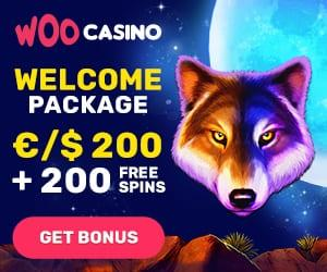 Visit Woocasino site, get your first deposit bonus and win real money!