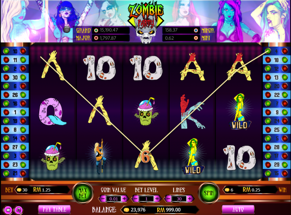 Start a Zombie Party with this unique slot in our recommended Asia Live Tech casinos