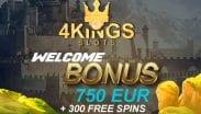 4Kings Casino Slots Welcome Bonus