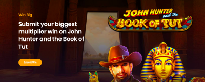 John Hunter and the Book of Tut Slot Submit Win