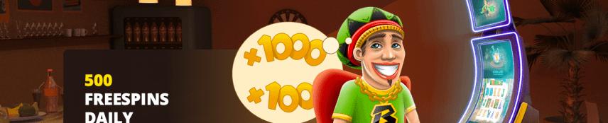 Bob Casino 500 Free Spins Daily Challenge