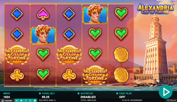 Alexandria City of Fortune slot is a fortune-maker!