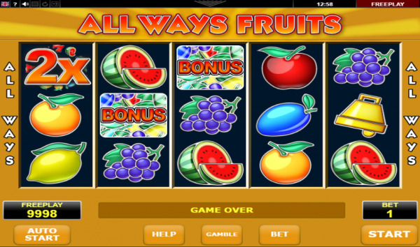 All Ways Fruits slot brings a modern spin to a classic-themed games