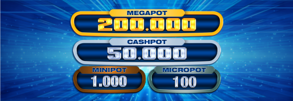 Amatic Casinos have a 4 tier jackpot system